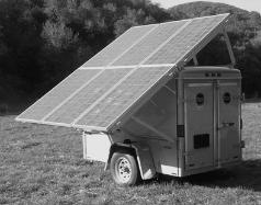 solar power trailer